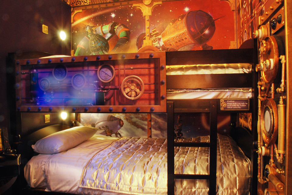 Alton Towers Hotel Themed Rooms