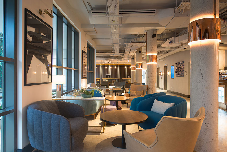 Fileturn projects lobby interior fit out