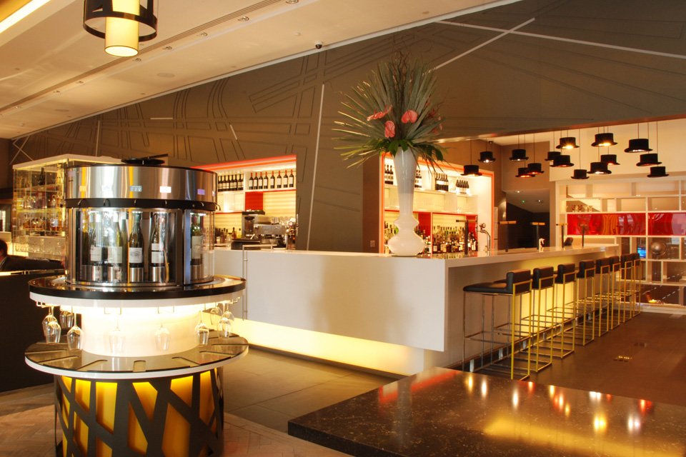 Pullman London bar fit out