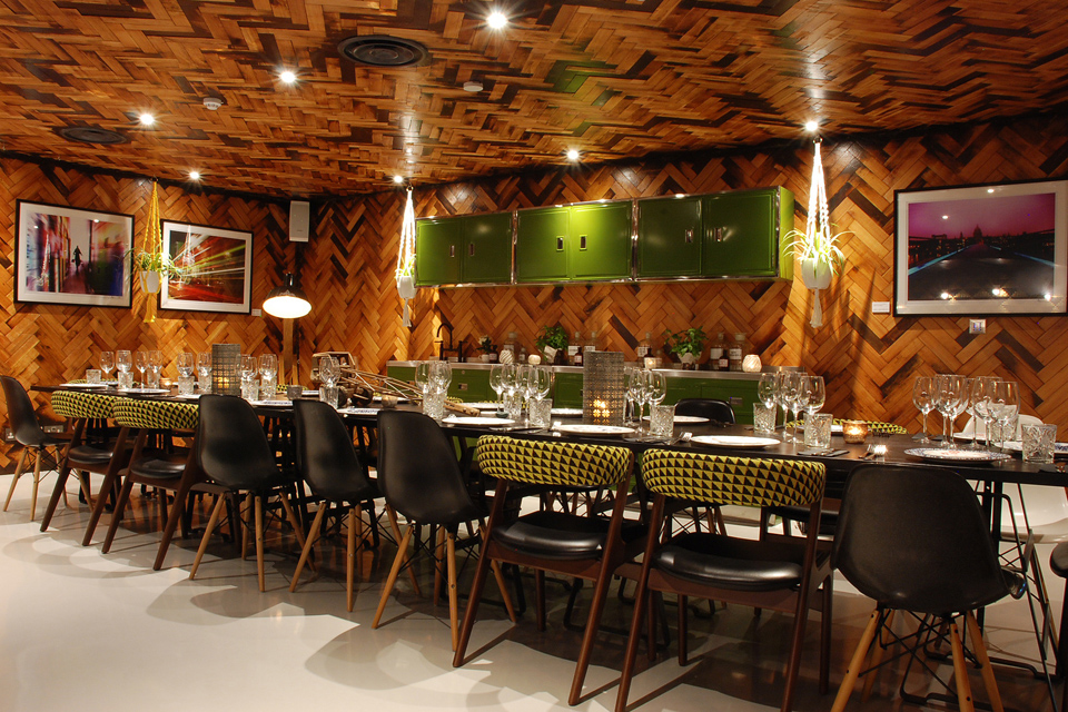 The Happenstance Private Dining Room