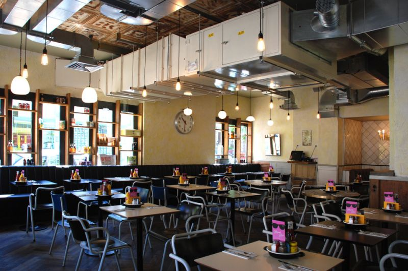 Fileturn Ltd Complete Fit Out Of Byron Burger