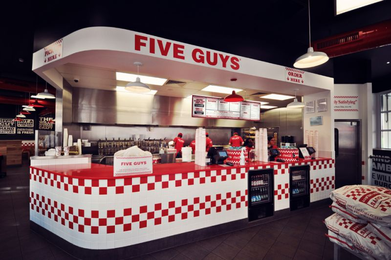 Fileturn Ltd Complete Fit Out Of Five Guys